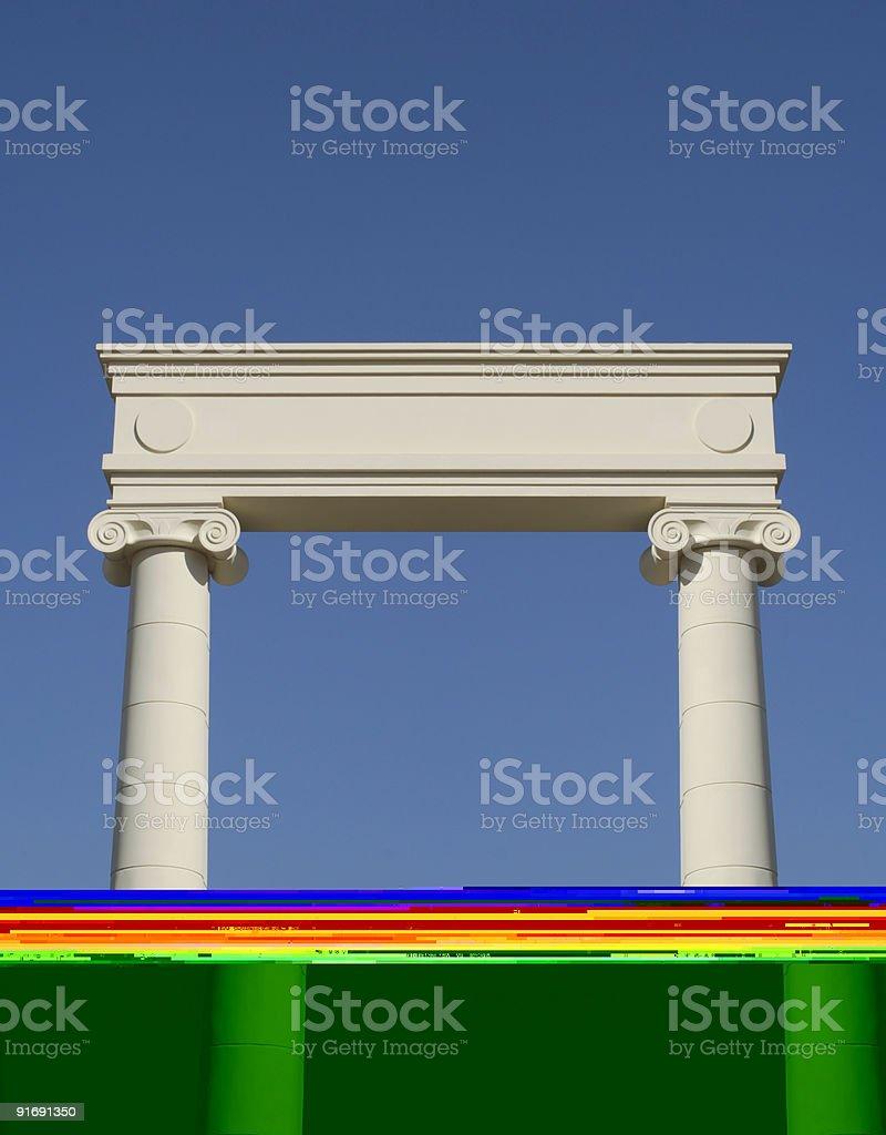 Portal royalty-free stock photo