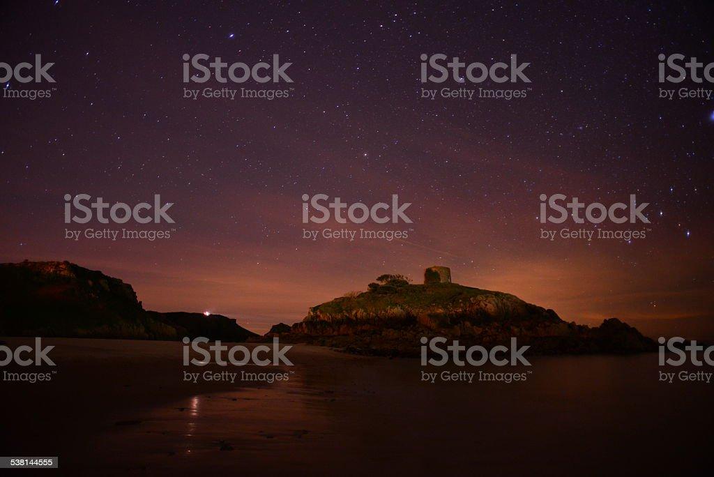 Portelet Bay, Jersey, U.K. stock photo