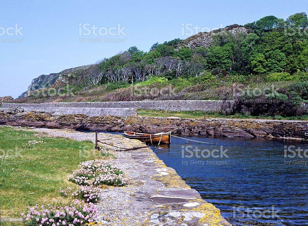Portencross Ayrshire Scotland stock photo