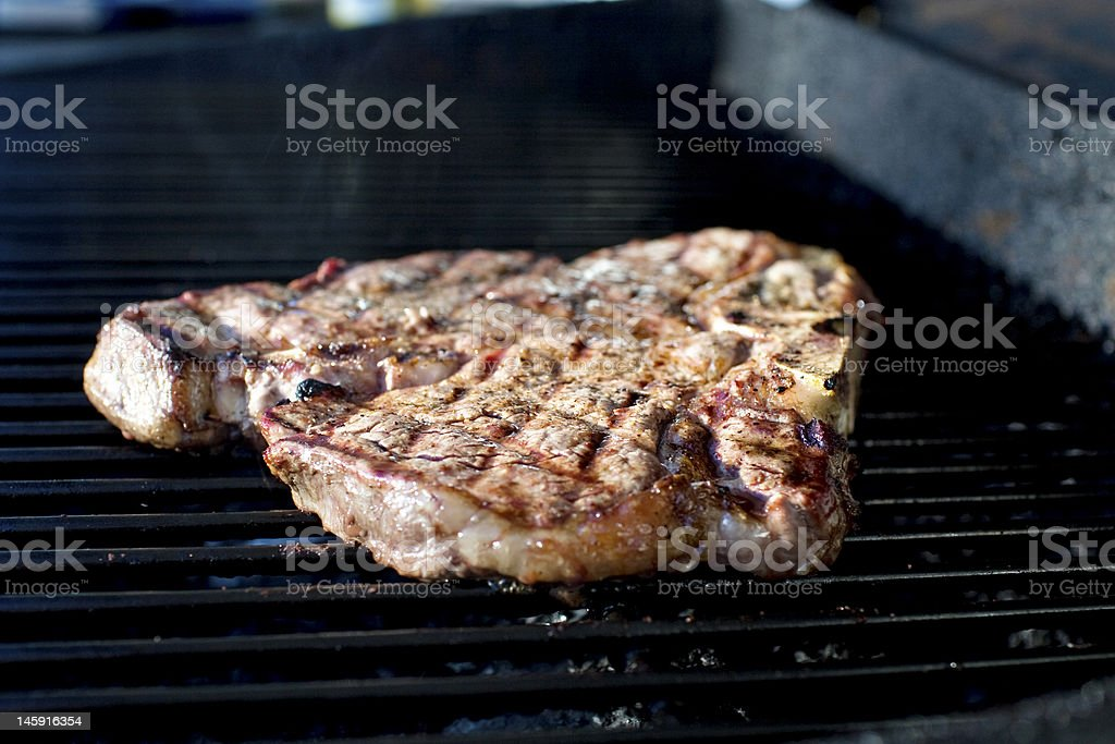Porterhouse Steak 2 royalty-free stock photo