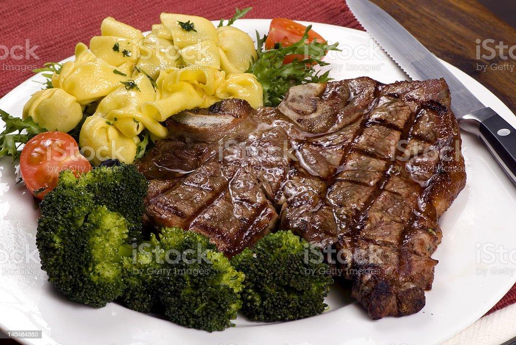 Porterhouse Steak royalty-free stock photo