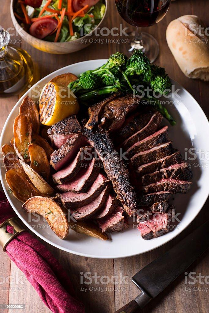 Porterhouse Steak stock photo
