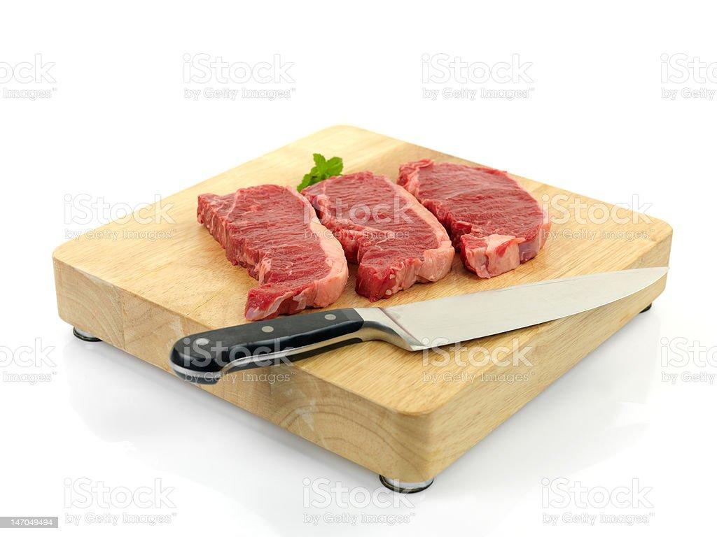 Porterhouse Steaks royalty-free stock photo