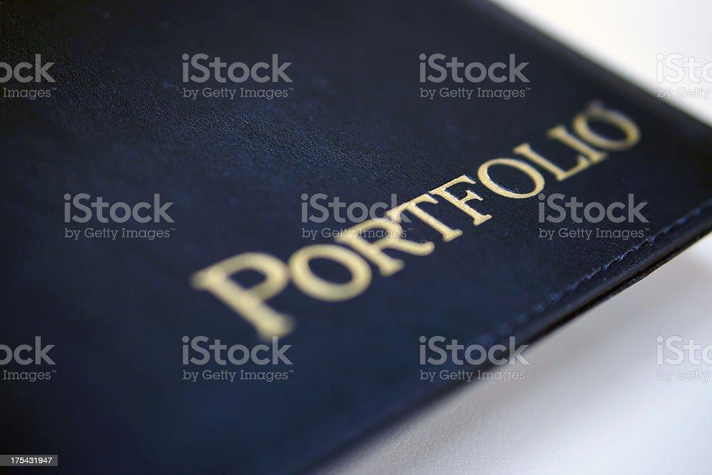 Portfolio stock photo