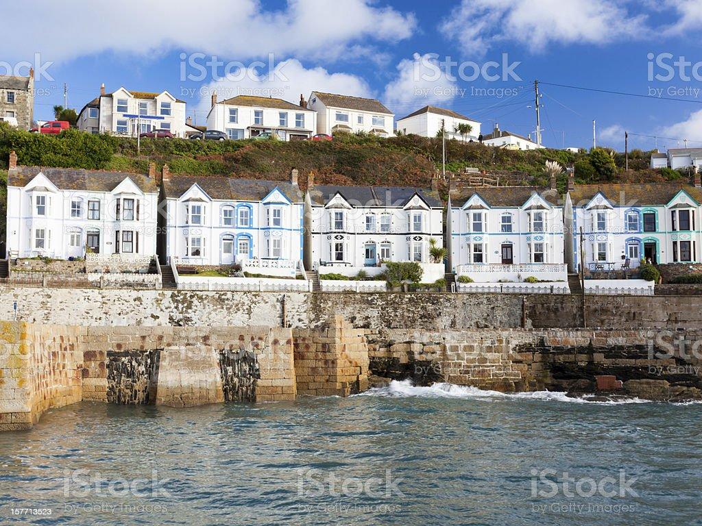 Porthleven Cornwall England stock photo