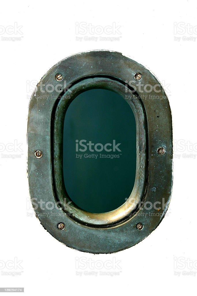 Porthole royalty-free stock photo