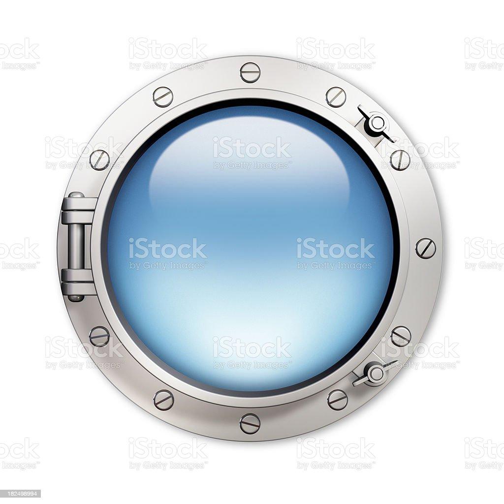 Porthole stock photo