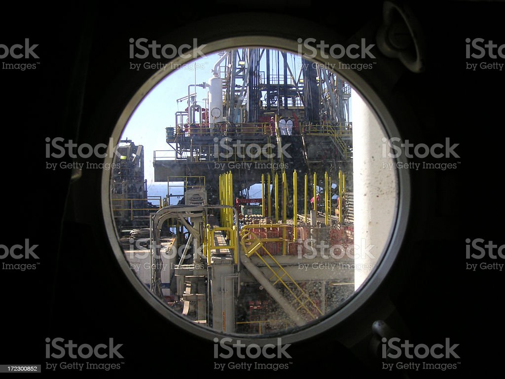 Porthole View royalty-free stock photo