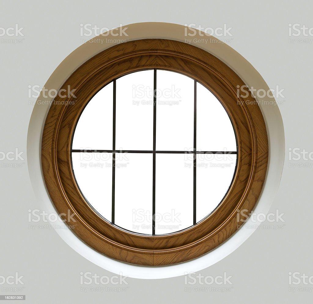 porthole window stock photo