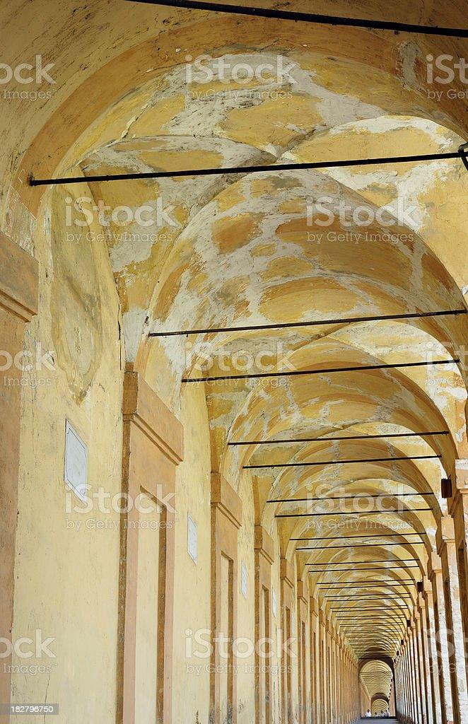 Portico stock photo