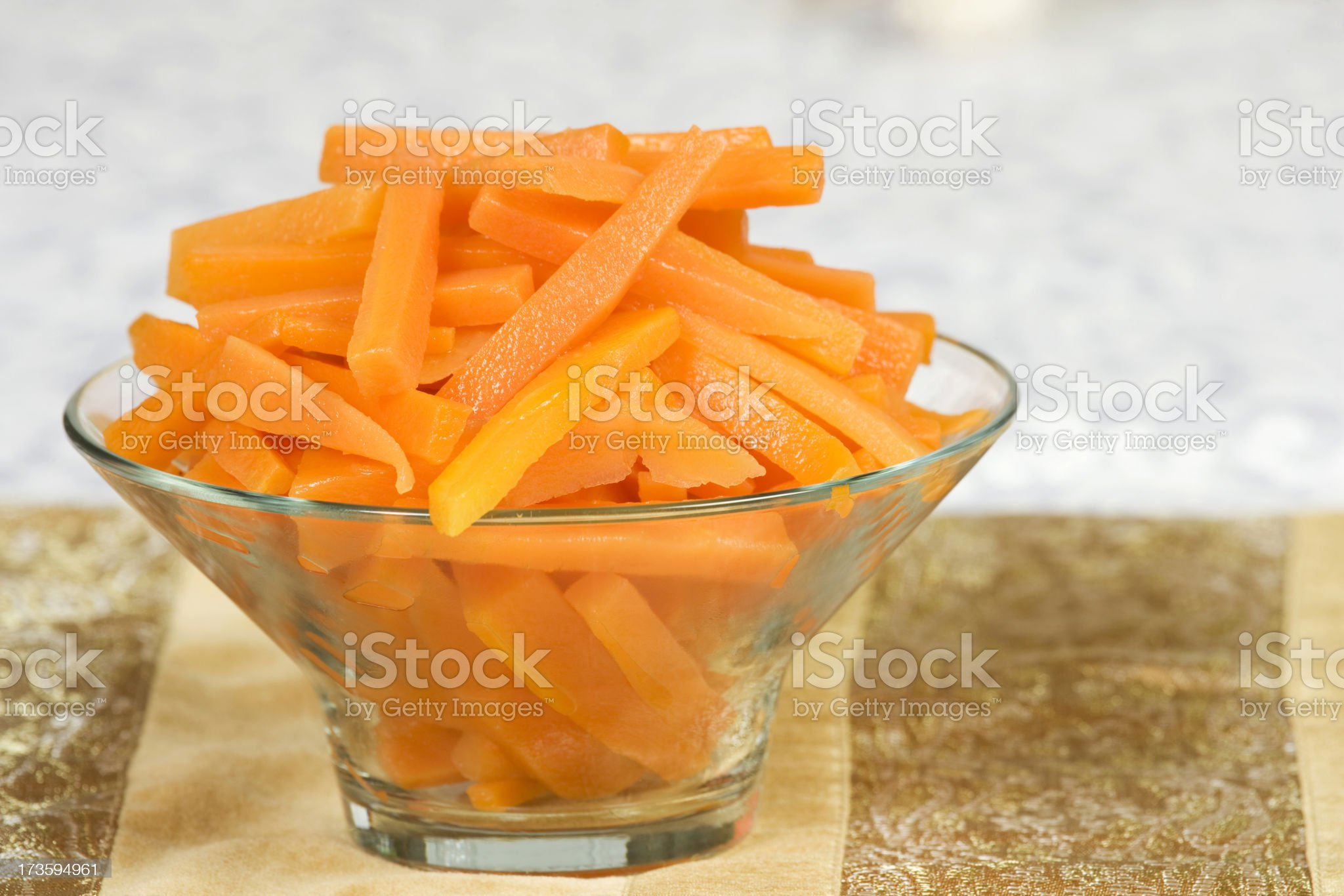 portion of carrots royalty-free stock photo