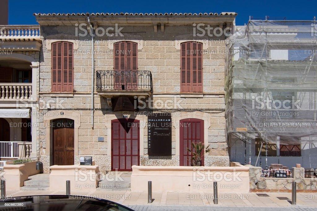 Portixol real estate stock photo