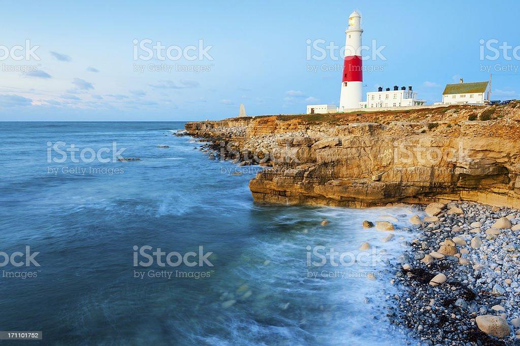 Portland Bill Lighthouse, Dorset, England stock photo