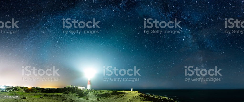 Portland Bill Lighthouse - Dorset stock photo