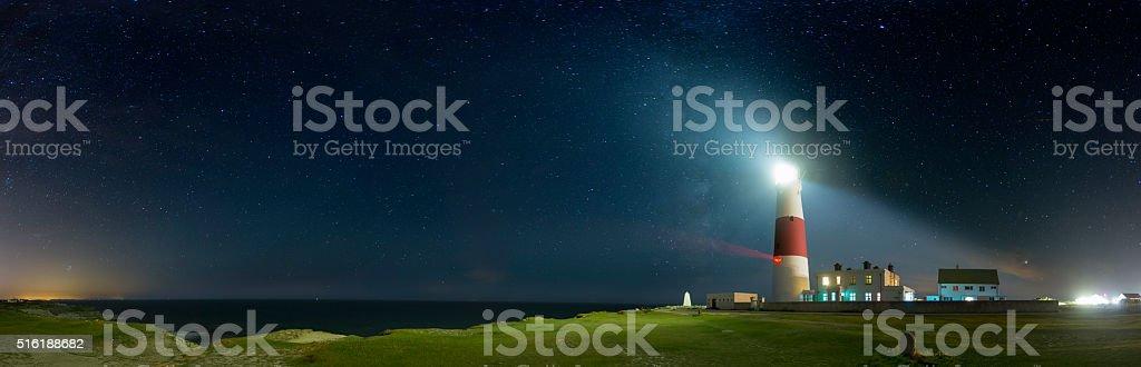 Portland Bill Lighthouse - Dorset stock photo