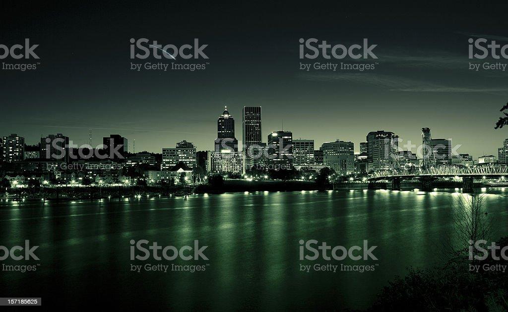 Portland Cityscape, Oregon royalty-free stock photo