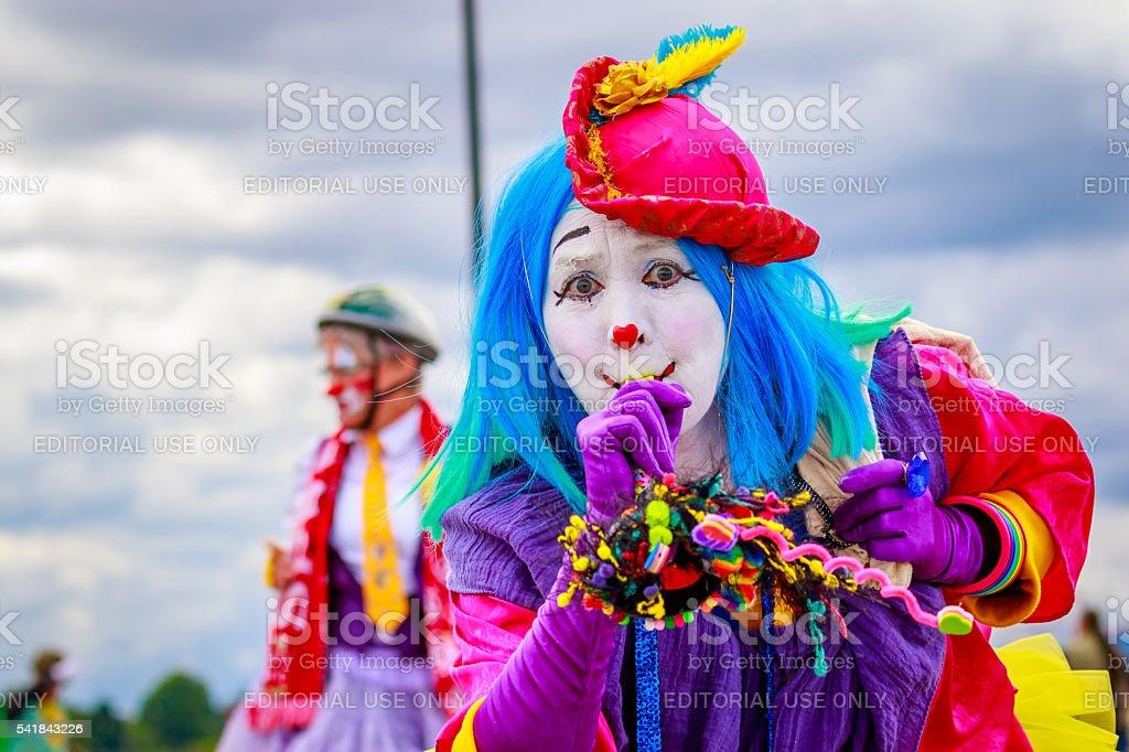 Portland Grand Floral Parade 2016 stock photo