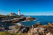 Portland Head Light Lighthouse in Cape Elizabeth Maine
