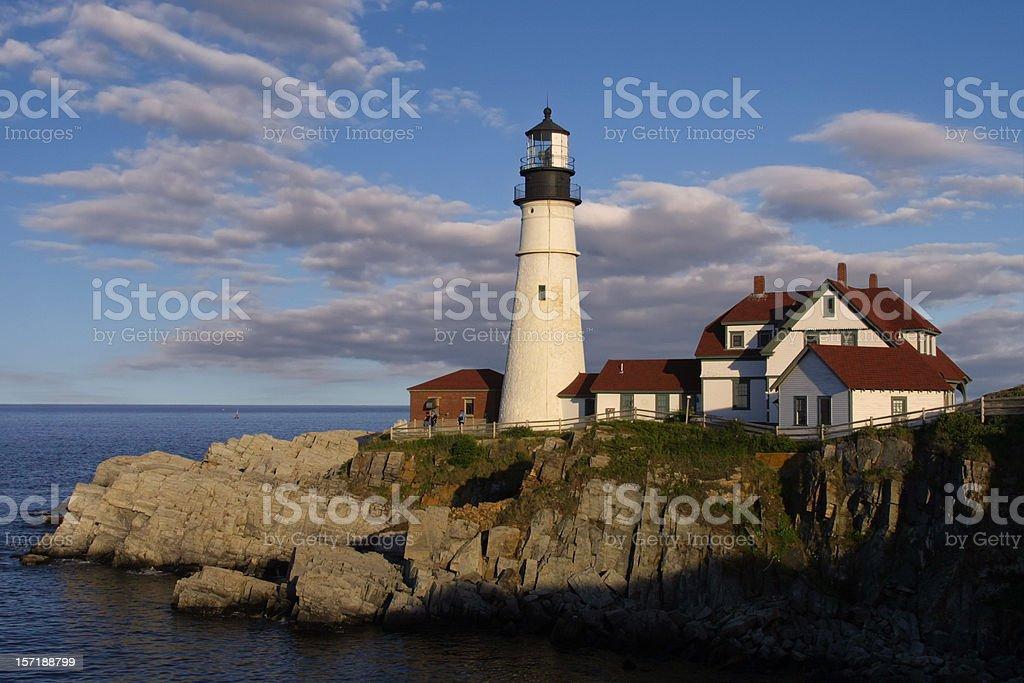 Portland Head Light, Maine stock photo