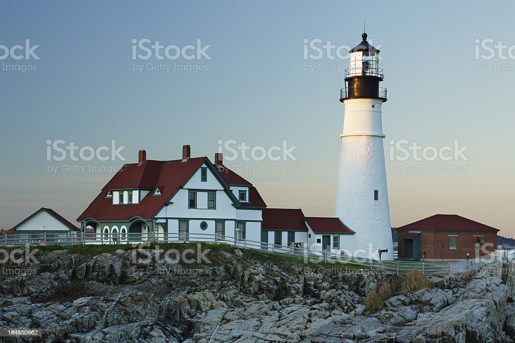 Portland Head Lighthouse royalty-free stock photo