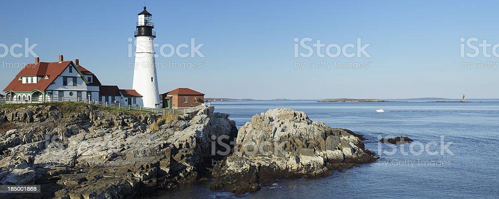 Portland Head Lighthouse stock photo