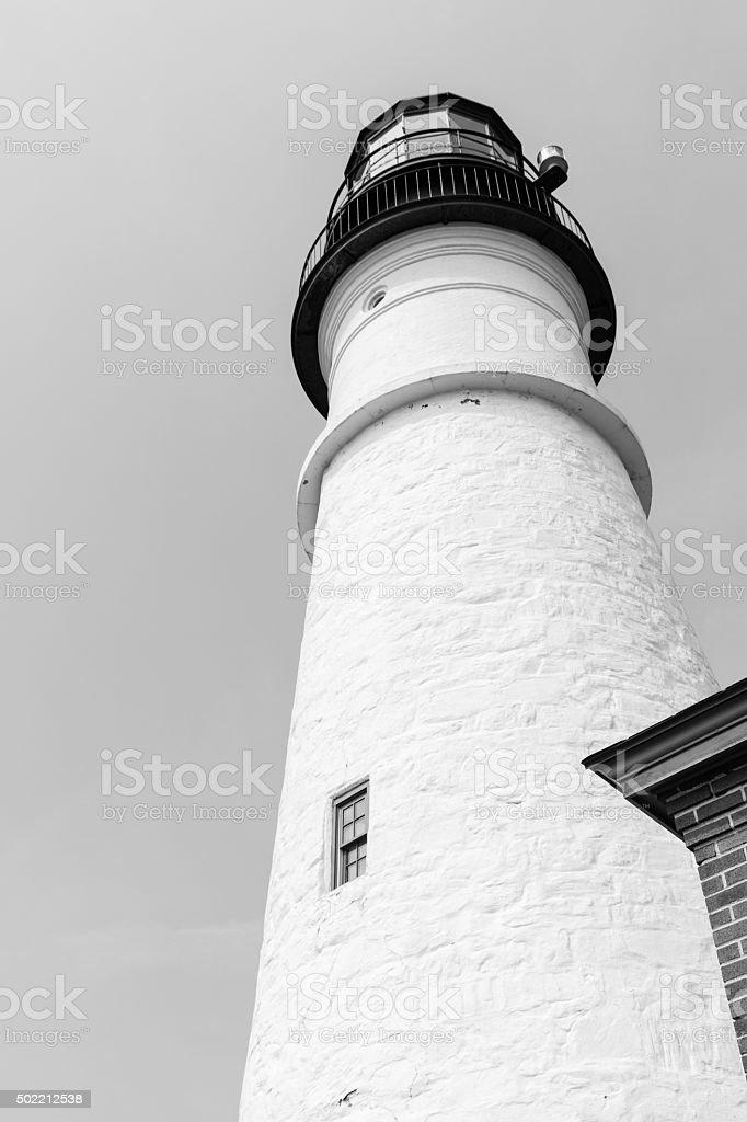 Portland Head Lighthouse Tower royalty-free stock photo