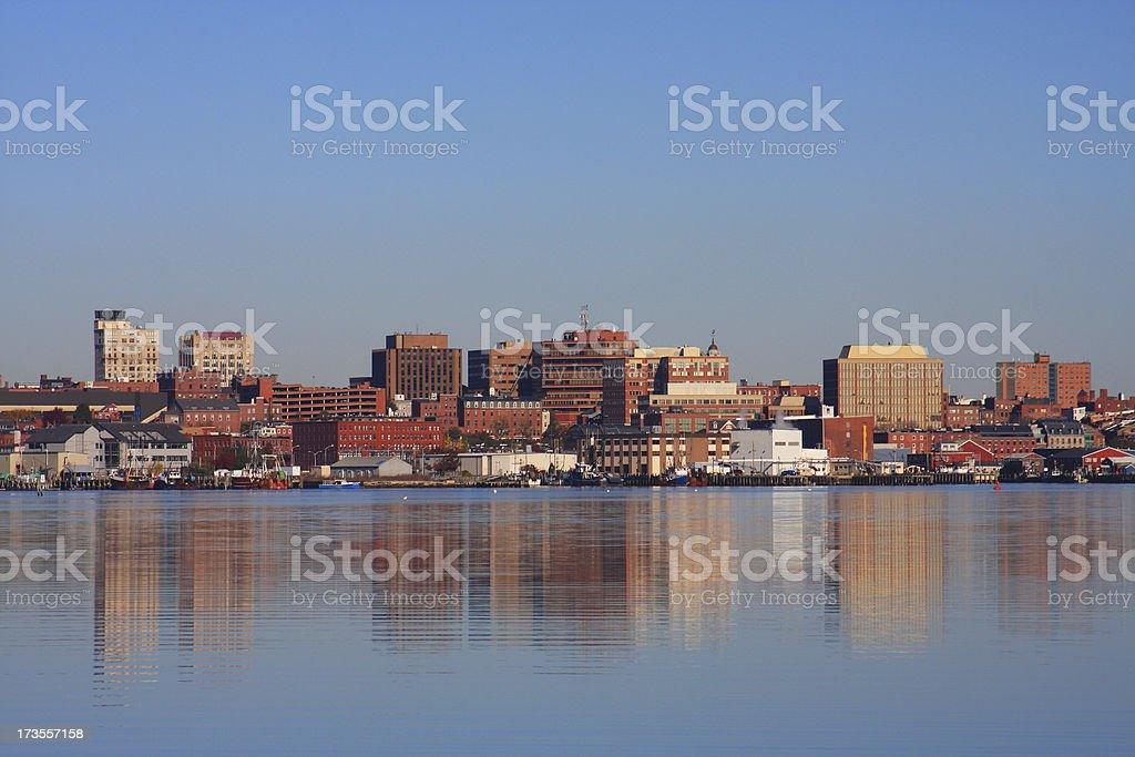 Portland Maine royalty-free stock photo