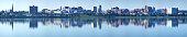 Portland, Maine Skyline Panorama
