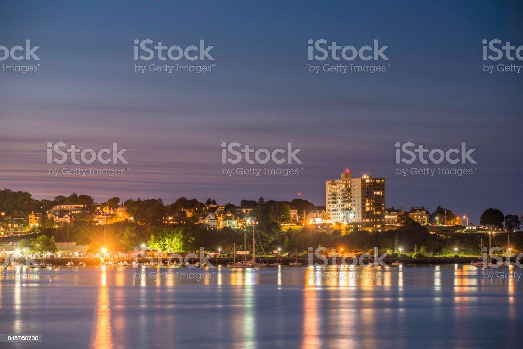 Portland, Maine Skyline stock photo