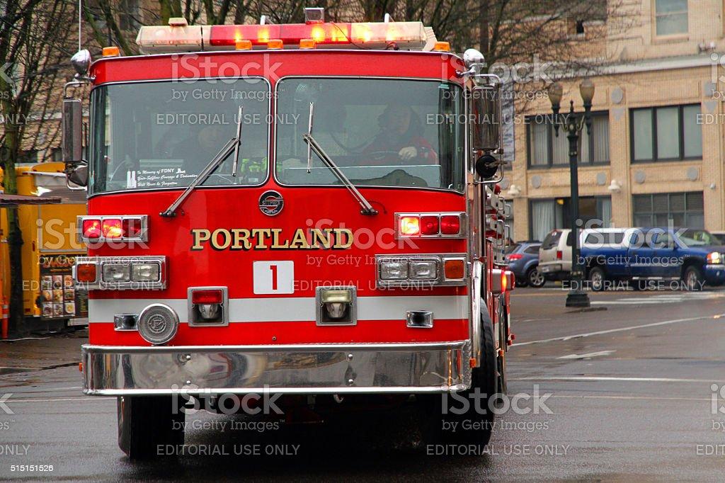 Portland Number 1 stock photo