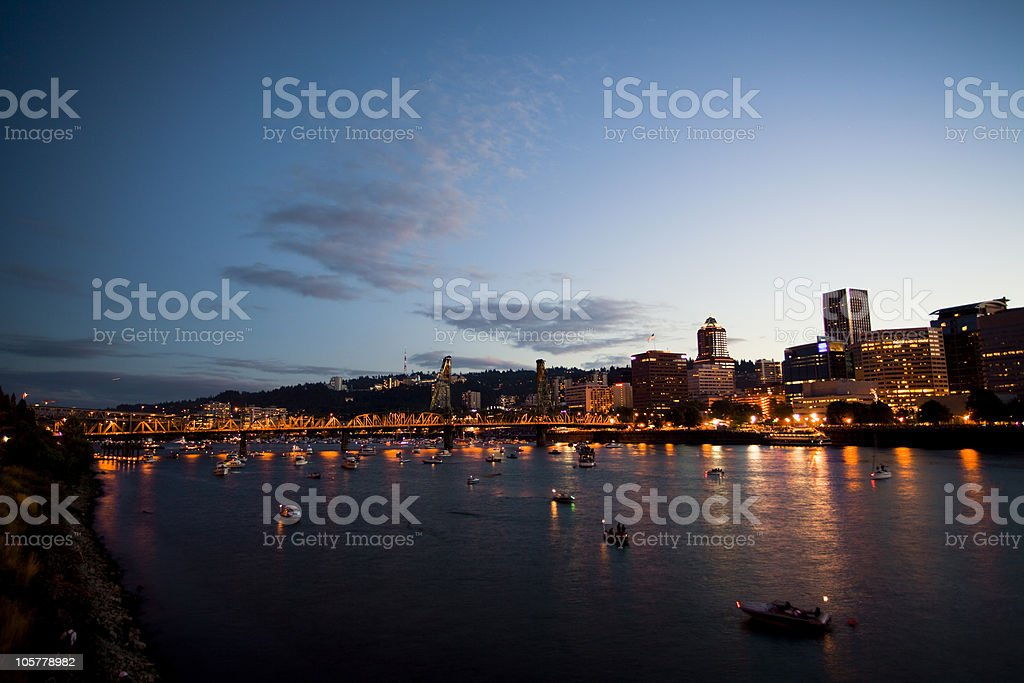 Portland, Oregon stock photo