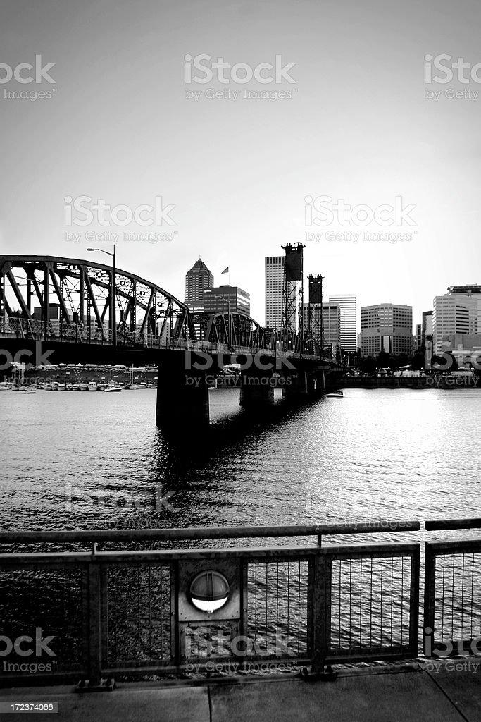 Portland Oregon royalty-free stock photo