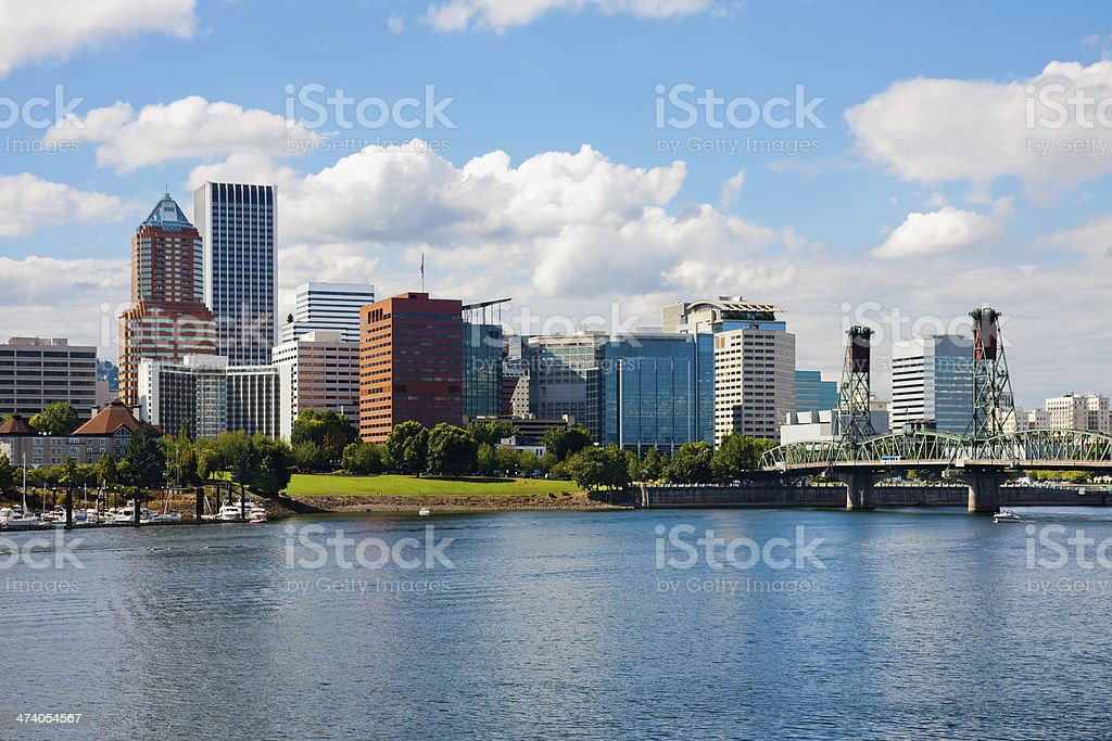 Portland Oregon stock photo