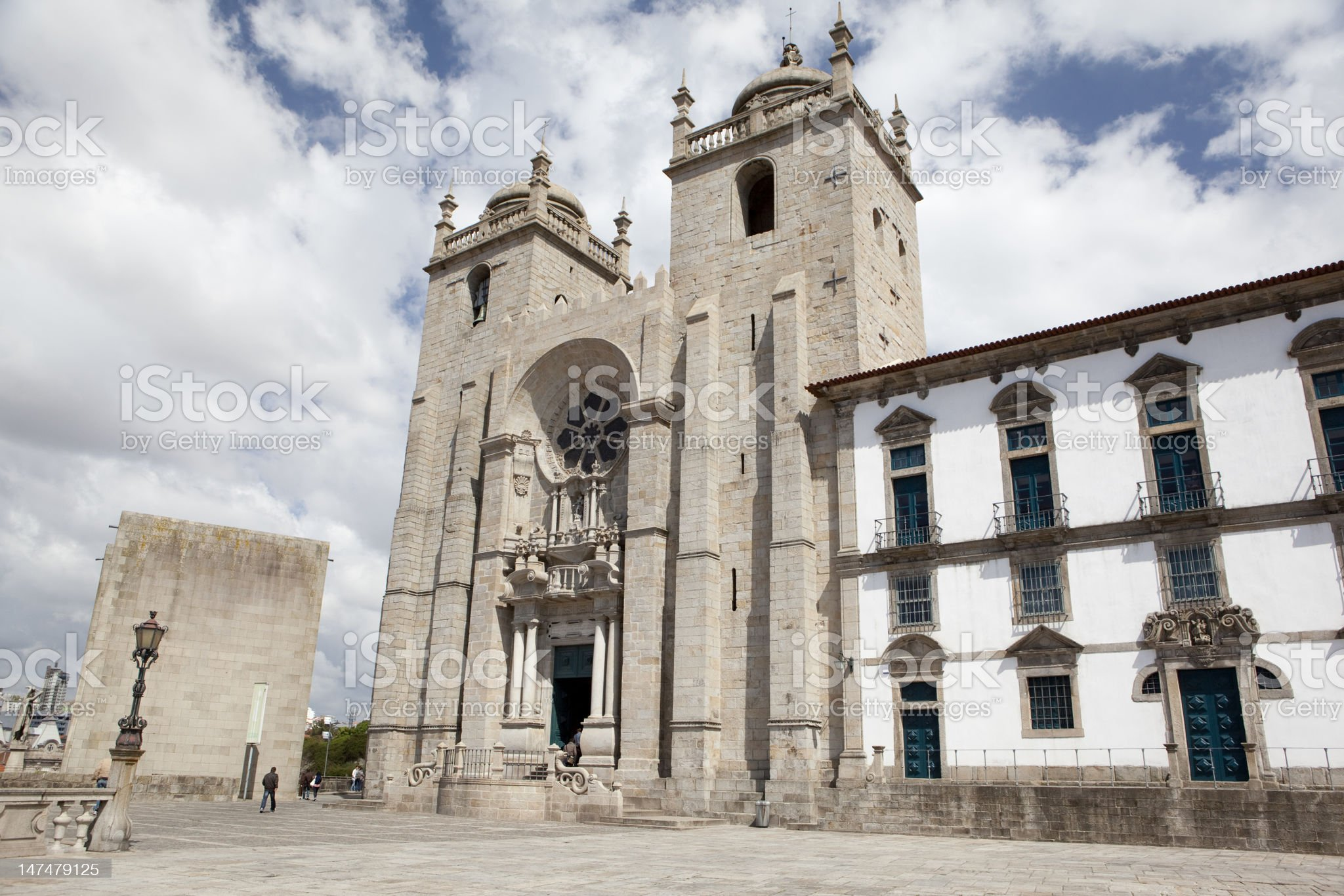 Porto Cathedral. royalty-free stock photo