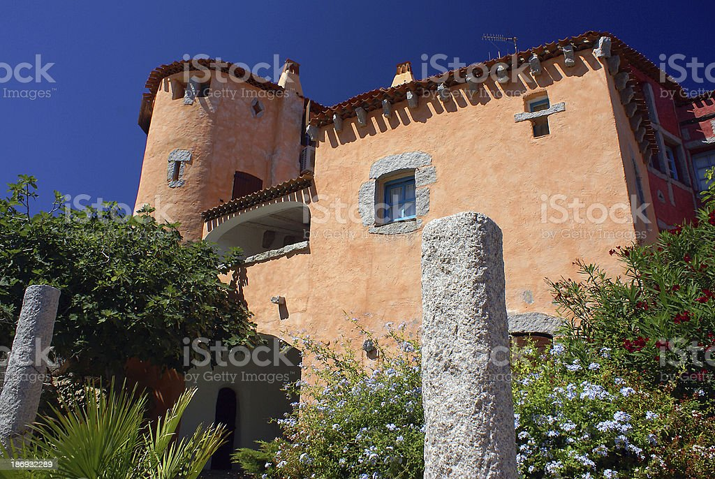Porto Cervo royalty-free stock photo