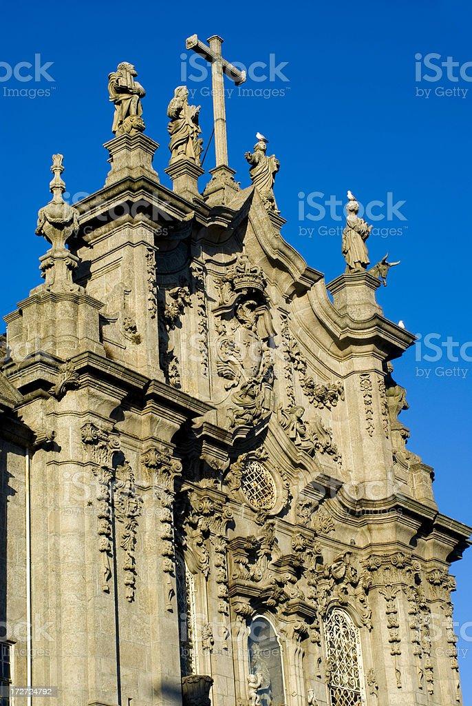 Porto Church stock photo