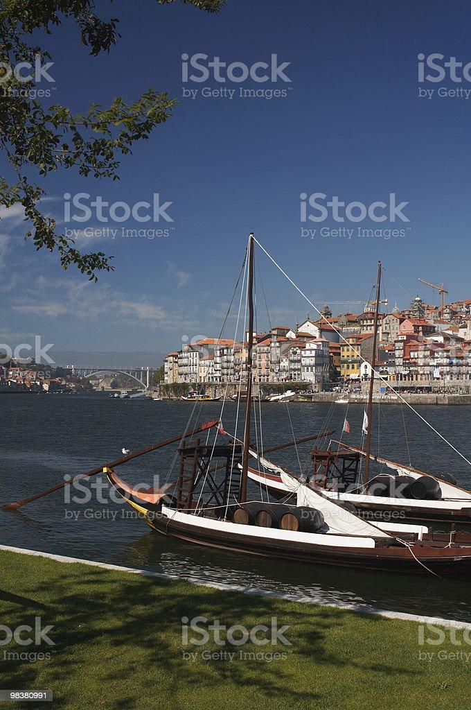 Porto, douro & port wine royalty-free stock photo