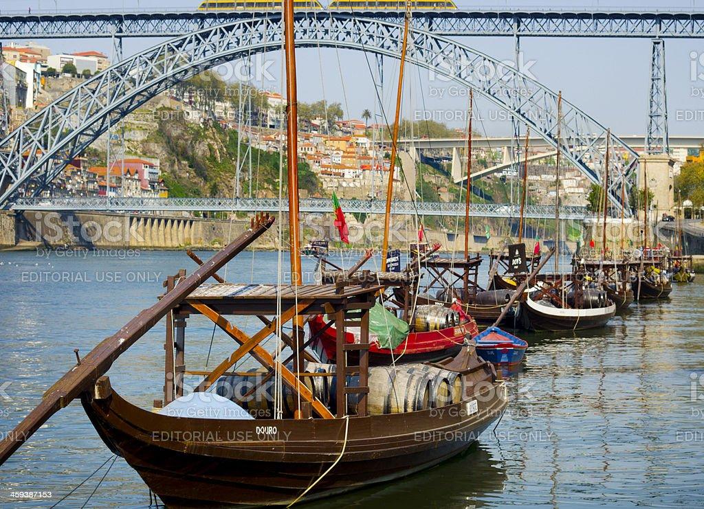 Porto Douro river Portugal royalty-free stock photo