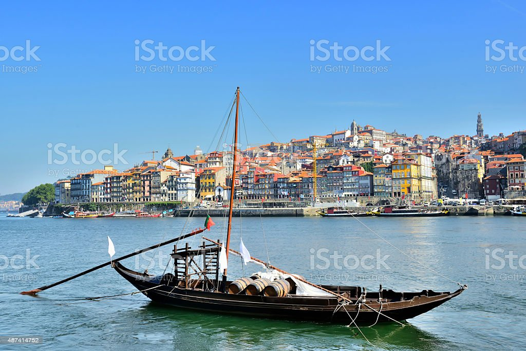 Porto downtown stock photo