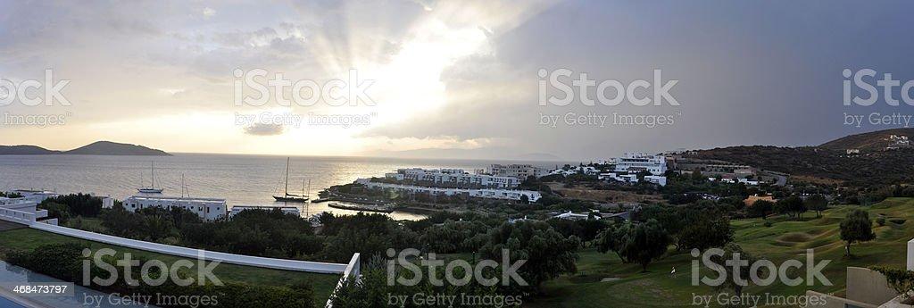Porto Elounda Bay, Crete (Greece) stock photo