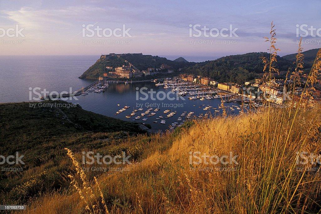Porto Ercole stock photo