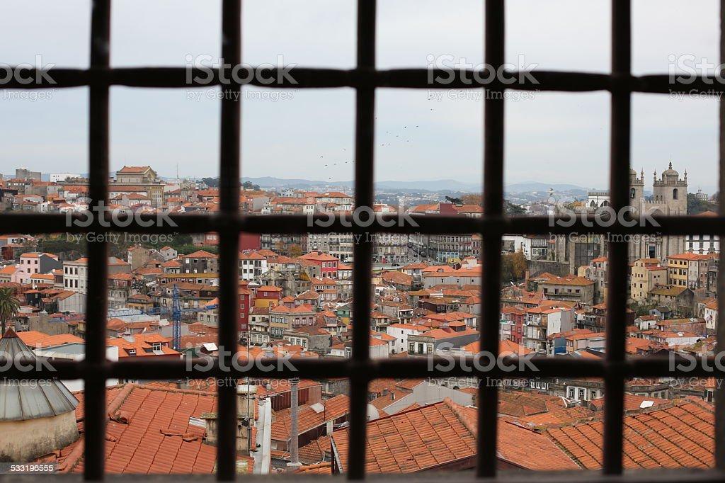 Porto Gef?ngnis Museum stock photo