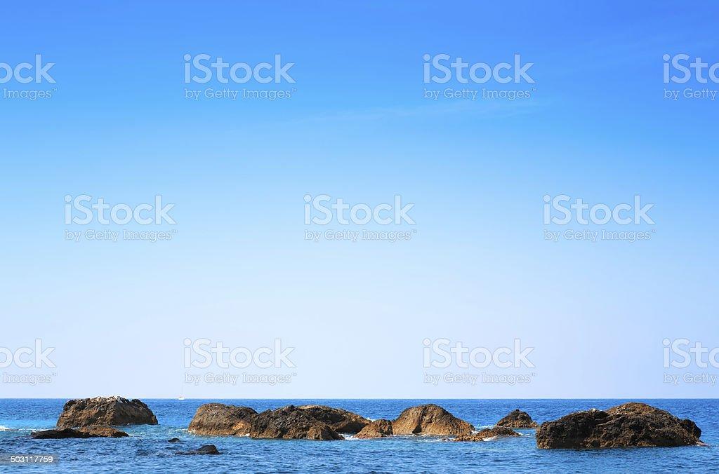 Porto Katsiki Beach royalty-free stock photo