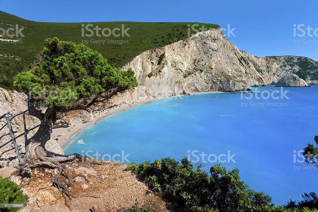 Porto Katsiki, Lefkada stock photo