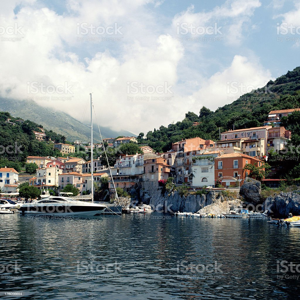 Porto Maratea, Basilicata, Italy royalty-free stock photo