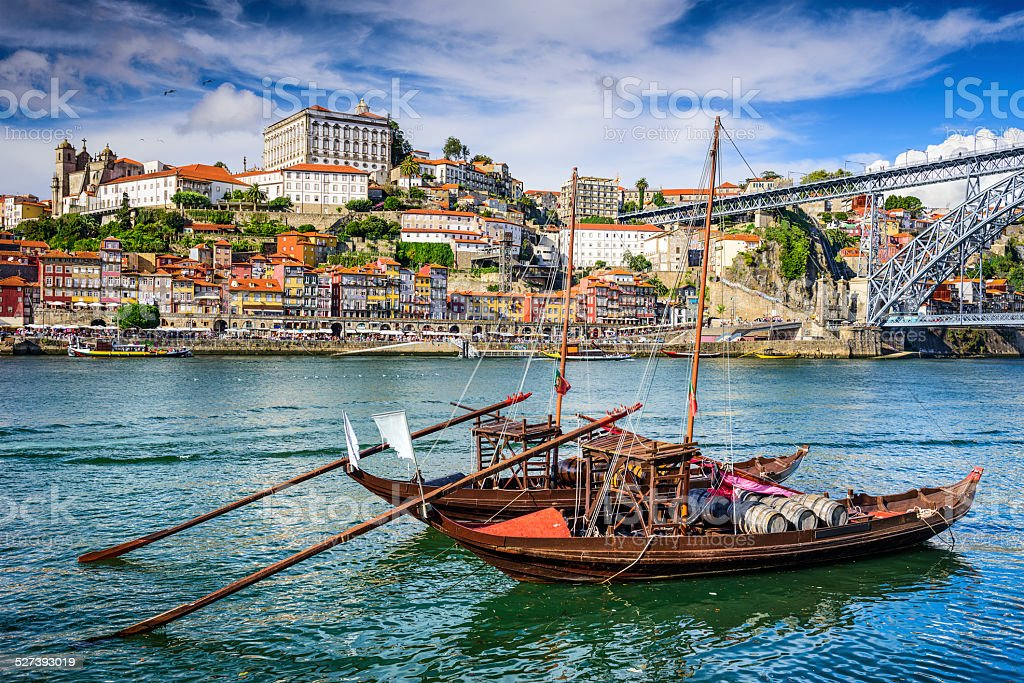 Porto, Portugal Cityscape stock photo