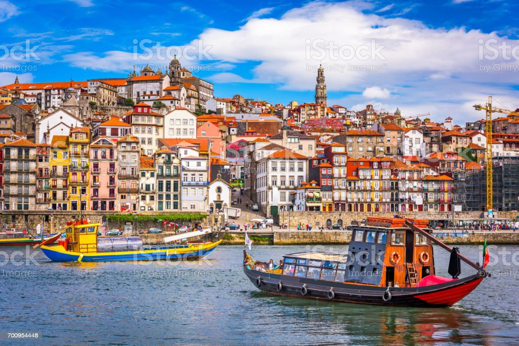 Porto, Portugal Skyline stock photo
