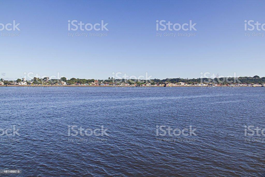 Porto Seguro horizon royalty-free stock photo