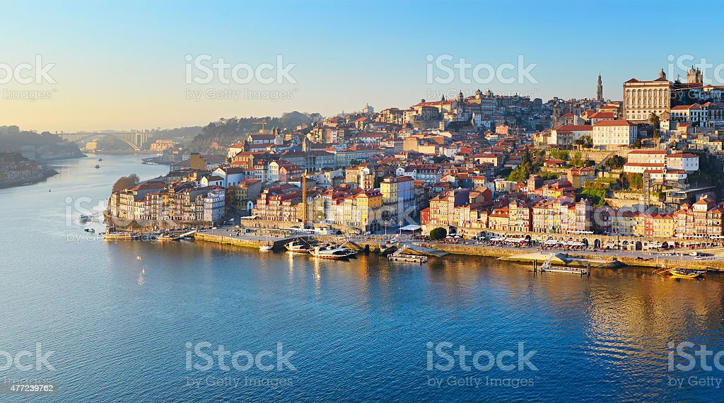 Porto skyline, Portugal stock photo