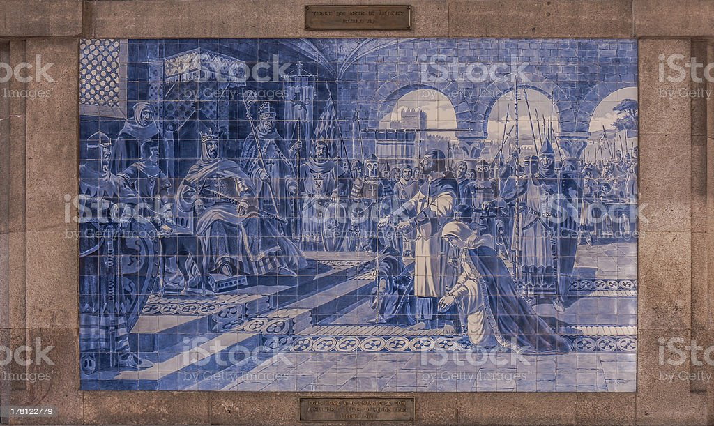 Porto Tiles royalty-free stock photo